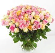 """Rožių kompozicija """"Rožių širdis"""""""