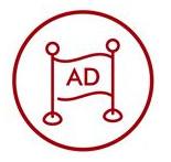 Lauko reklamos dizainas