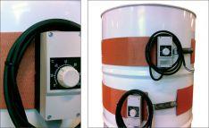 Elektriniai statinių šildytuvai, juostiniai 0-120°C, 130°C
