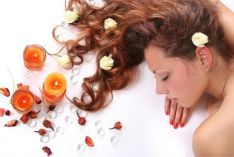 Galvos ir plaukų spa procedūros