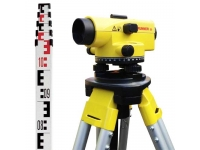 Optinis nivelyras Leica RUNNER 20