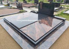 Kapaviečių uždengimai granitinėmis plokštėmis
