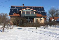 5kw saulės elektrinė