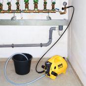Rankinis šildymo, vandentiekio sistemos patikrinimo įrenginys REMS PUSH