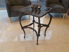 Metalinis stalas