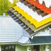 Plieninė stogo danga, lietaus sistema, skardos lankstymas ir profiliavimas