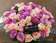 50 rožių