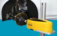 Stabdžių diskų pratekinimo įrenginys MAD (Olandija)