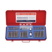 Įrankiai - atsuktuvai ir antgaliai -  Antgalių ant 10mm galvutės komplektas (40vnt) TX-3440