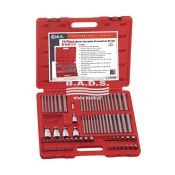 Įrankiai - Galvučių Ir Įrankių Komplektai - Antgalių komplektas plastikiniame lagamine (75vnt) TX-23475M