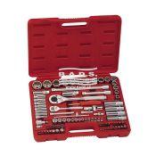 Įrankiai - Galvučių ir įrankių komplektai - Įrankių komplektas lagamine (87vnt) AC-2487