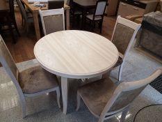 Valgomojo stalas + kėdės