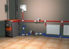 Šildymo sistemų įrenginių montavimas