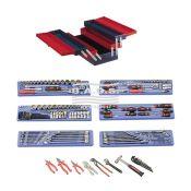 Įrankiai - Įrankių dėžės su įrankiais - Įrankių dėžė su įrankiais (190vnt) MS-190TS
