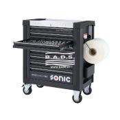Įrankiai - Įrankių vežimėliai su įrankiais - Įrankių vežimėlis S9 su įrankių komplektu (192vnt) 719251
