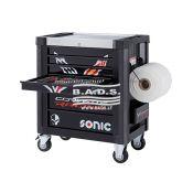 Įrankiai - Įrankių vežimėliai su įrankiais - Įrankių vežimėlis S9 su įrankių komplektu (278vnt) 727849