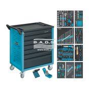 Įrankiai - Įrankių vežimėliai su įrankiais - Įrankių vežimėlis su įrankių komplektu (217vnt) 177-7/217