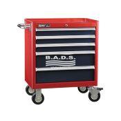 Įrankiai - Įrankių vežimėliai su įrankiais - Įrankių vėžimėlis su įrankių komplektu (116vnt) TS-465-116