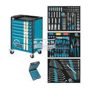 Įrankiai - Įrankių vežimėliai su įrankiais - Įrankių vežimėlis su įrankių komplektu (179vnt) 179-7/178