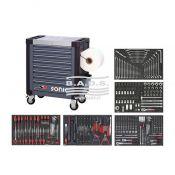 Įrankiai - Įrankių vežimėliai su įrankiais - Įrankių vežimėlis su įrankių komplektu (296vnt) 4732418_296