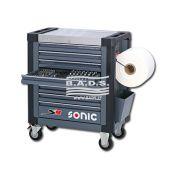 Įrankiai - Įrankių vežimėliai su įrankiais - Įrankių vežimėlis su įrankių komplektu (391vnt) 739131