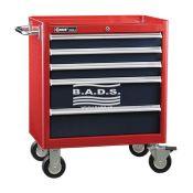 Įrankiai - Įrankių vežimėliai - Įrankių vėžimėlis 5 stalčių TS-465