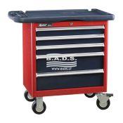 Įrankiai - Įrankių vežimėliai - Įrankių vėžimėlis 5 stalčių TS-465P