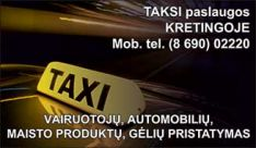 Taksi Kretingoje