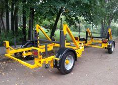 Kabelinių būgnų transportavimo vežimėlis MKV-35