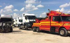 Sunkvežimių transportavimas po avarijos