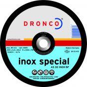 Pjovimo diskas DRONCO inox special AS 46 T INOX (125 x 1,6 x 22,23)