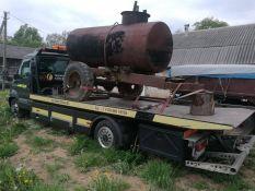 Įvairios smulkios žemės ūkio technikos, statybinės technikos transportavimas