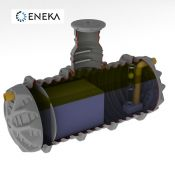 Naftos gaudyklės (skirtuvai) ENEKA - SEPKO