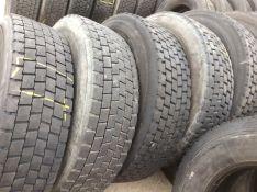 315/80 R22,5 Michelin, 4 vnt. vedamieji