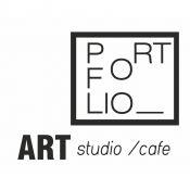 """ PORTFOLIO ART studio/cafe  meno galerija/ kavinė"""