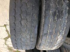 315/80R22,5   Michelin Works, 2 vnt. priekiniai,