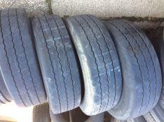 245/70R19,5 J  Michelin XTE2 ,priekabai,  4 vnt.