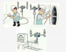 Garo-vandens sumaišymo vožtuvai