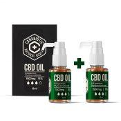 Kanapių CBD aliejus Canabiotic CBD OIL 1500 mg 2 VNT. rinkinys