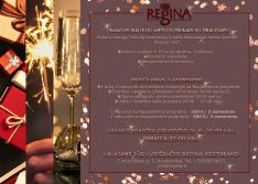 Naujųjų Metų sutikimas Druskininkų viešbutyje-restorane  REGINA