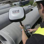 Leica GS18T GNSS imtuvas su IMU