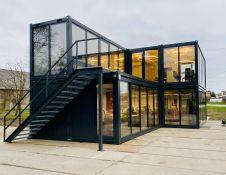Biuro paskirties moduliniai pastatai