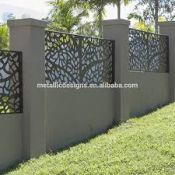 Metalinės tvoros pjovimas lazeriu