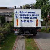 Mini krautuvo, sunkvežimio paslaugos