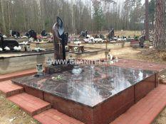 Granito plokštės kapams