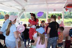 Vaikų mini kruizas Nemunu su linksma programa (1 val. turas)