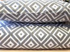 50x70cm. pagalvės užvalkalas su užtrauktuku