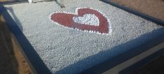 Kapo dekoravimas granito skalda