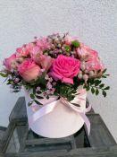 Rausva gėlių dežutė