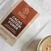 Augalinių baltymų kokteiliai su kakava